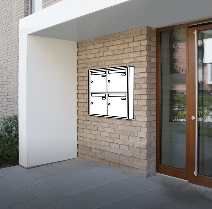 Aufputz-Briefkastenanlagen Konfigurator online