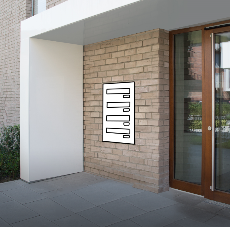 Mauerdurchwurf Briefkastenanlagen Konfigurator online